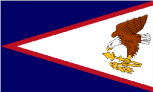 American Samoa Large Country Flag - 5' x 3'.